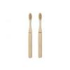 Fogkefe bambuszból, Mr/Ms [2 db]