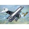 Fokker D.VII OAW built, mid repülő makett Roden 418
