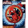 Fólia nagy lufi Pókember, Spiderman