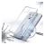 Forcell AntiBacterial Huawei P Smart (2020) átlátszó szilikon hátlap tok
