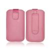 Forcell Deko univerzális kihúzós tok - Nokia E52/SAM S5610 Maxcom MM560 pink