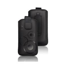 Forcell Deko univerzális tok, M (Apple iPhone 5), fekete tok és táska