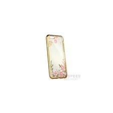 Forcell Diamond hátlap tok Samsung J330 Galaxy J3 (2017), arany tok és táska