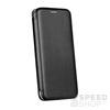 Forcell Elegance oldalra nyíló hátlap tok Samsung A530 Galaxy A8 (2018), fekete
