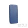 Forcell Elegance oldalra nyíló hátlap tok Samsung G965 Galaxy S9+, kék