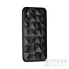 Forcell Prism hátlap tok Apple iPhone X, fekete