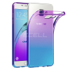 Forcell Samsung Galaxy A5 (2016) Forcell OMBRE TPU szilikon tok - LILA KÉK