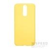Forcell Soft szilikon hátlap tok Huawei Mate 10 Lite, sárga