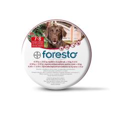 Foresto repellens kullancs- és bolhanyakörv 70 cm élősködő elleni készítmény kutyáknak
