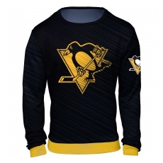 FOREVER Collectibles™ Pittsburgh Penguins fĂŠrfi pulóver black NHL Static Rain - XL,(USA)