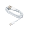Forever USB data ipho 5/5c/5s kábel fehér bulk