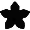 Formalyukasztó 16 mm, Virág, öt szirmú