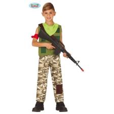 Fortnite Recon zsoldos, katona halloween farsangi jelmez szett - gyerek (méret: XL) jelmez