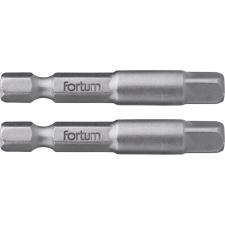 """Fortum adapter klt. 2 db, dugókulcsok gépi befogásához; S2 acél, 1/4"""", 50 mm, bliszteren dugókulcs"""