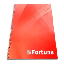Fortuna Spirálfüzet FORTUNA Basic A/4 70 lapos kockás füzet