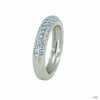 FOSSIL Női gyűrű Sterling ezüst cirkónia Kék JFS00081040 53 (16.8 mm Ă?)