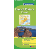 Francia Riviéra: Cannes, Nice, Monaco, Menton térkép - Michelin 115
