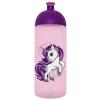 """FREEWATER Kulacs, higiénikus műanyagból, 0,7L, , """"Unikornis 2"""",  rózsaszín"""
