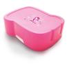 """FREEWATER Uzsonnás doboz, higiénikus műanyagból,  """"Tündér"""", rózsaszín"""