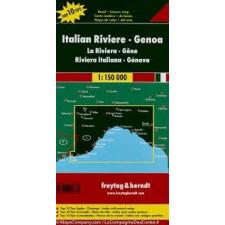 Freytag & Berndt Olasz Riviera - Genova, Top 10 tipp, 1:150 000 Freytag térkép AK 0608 térkép