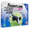 Frontline Tri-Act rácsepegtető oldat kutyáknak 10-20 kg-os kutyáknak