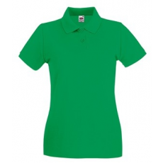 Fruit of the Loom 63-030 LADY FIT Premium női póló KELLY GREEN XS-XXL mérete