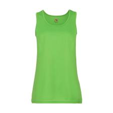 Fruit of the Loom Női póló Ujjatlan Fruit of the Loom Performance Vest Lady-Fit - 2XL, Lime zöld női póló