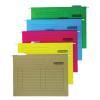 Függőmappa, karton, A4, DONAU, sárga 25 db/csomag