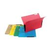 Függőmappa, oldalvédelemmel, karton, A4, DONAU, piros 25 db/csomag