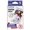 Fuji film Colorfilm Instax Mini Glossy fotópapír (10/PK) AirMail