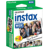 Fuji film Colorfilm Instax Wide Glossy film 20db/csomag