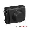Fuji LC-X30 prémium bőrtok fekete