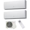 Fujitsu AYOG14LAC2/ 2*ASYG07LUCA Inverteres Dual Oldalfali Split klíma szett