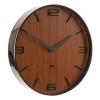 Future Time Design falióra FT3010BR Flat walnut 30 cm