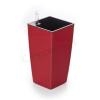 G21 önöntöző kaspó Linea mini 14 cm, piros