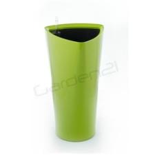 G21 Trio önöntöző kaspó, zöld, 29.5cm kerti tárolás