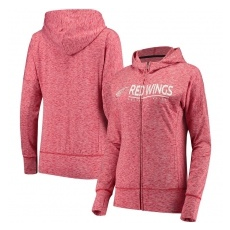 G-III Apparel Group Detroit Red Wings női pulóver pink Reciever Full-Zip Hoodie - XL