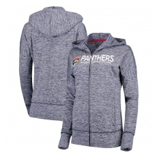 G-III Apparel Group Florida Panthers női pulóver grey Reciever Full-Zip Hoodie - XL