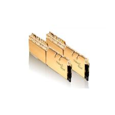 G.Skill 32GB DDR4 3000MHz Kit(2x16GB) TridentZ Royal Gold memória (ram)