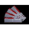 G.Skill DIMM 32 GB DDR4-3300 Quad-Kit Ezüst / Piros (F4-3300C16Q-32GTZ)