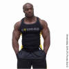 G!WEAR RIB TANK TOP (BLACK/YELLOW) [XXL]
