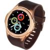 GARETT Smartwatch; Zegarek Sportowy Garett Multi 3 Czarno - Zloty