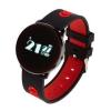 GARETT Smartwatch ; Zegarek Sportowy Garett Sport 14 Czarno - Czerwony