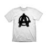 "Gaya Rage 2 T-Shirt ""Anarchy"" White, XL"