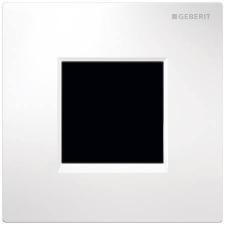 Geberit 30 vizelde vezérlés elektronikus működtetéssel, hálózati üzem, fehér/fényes króm/fehér 116.027.KJ.1 fürdőszoba kiegészítő