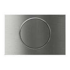 Geberit Sigma10 működtető nyomólap öblítés/stop funkcióval, rögzíthető szálcsiszolt / fényes króm / szálcsiszolt rozsdamentes acél 115.787.SN.5 csiszolókorong és vágókorong