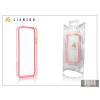 Gecko Apple iPhone 5 védőkeret - Bumper - Gecko Lianzoo - clear/pink