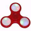Gegeszoft Kft. Fidget Spinner színes LED világítással piros