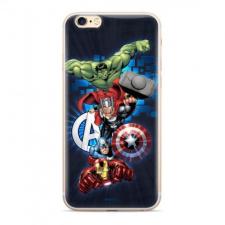 Gegeszoft Marvel szilikon tok - Avengers 001 Samsung A025 Galaxy A02S sötétkék (MPCAVEN202) tok és táska