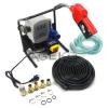Geko 230V Gázolajszivattyú szett, automata töltőpisztolyal, mérőórával, csővel (csúszólapátos lamellás szivattyú)